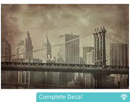 vintage new york wall mural your decal shop nz designer wall vintage new york wall mural