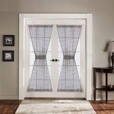 curtain green curtains walmart front door sidelight panel
