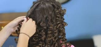 cute girl hairstyles rag curls how to use paper towels to create beautiful curls tiphero