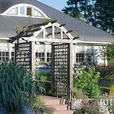 House Of Trelli Arch Trellis Ideas