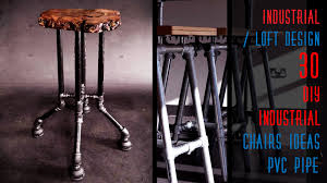 Steampunk Bar Stools 30 Diy Industrial Chairs Ideas Pipe Youtube