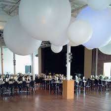 large white balloons balloons ceiling decor event decor direct products