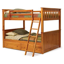 Excellent Design Diy Bunk Beds Ideas Come With White Wooden - Wooden bunk beds with drawers