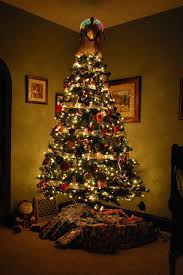 christmas tree with colored lights colorful light white christmas tree festival collections
