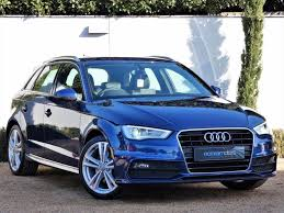 audi a3 scuba blue used scuba blue audi a3 for sale dorset