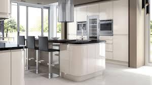 modern handleless kitchens fusion gloss ivory kitchen contemporary handleless kitchens