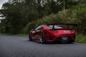 jdm acura nsx liberty walk honda nsx is the finest of jdm creations