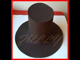 como hacer un sombrero de carton cómo hacer un sombrero en fomi youtube