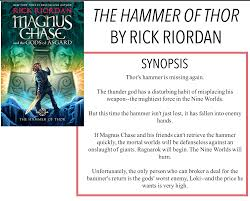 ryley reads magnus chase the hammer of thor by rick riordan