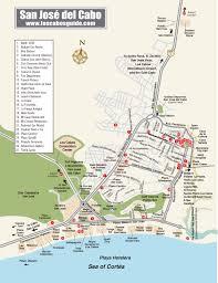 Cerritos College Map San Jose Del Cabo Map Los Cabos Guide Cabo Pinterest San