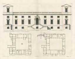 vitruvius britannicus architectural prints from 1715 by colen