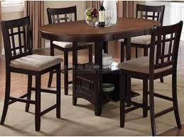 Coaster Dining Room Sets Coaster 105278 Levon Two Tone 5pc Set