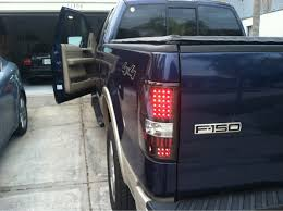 2004 f150 tail lights recon led dark smoke or recon red led taillights ford f150 forum