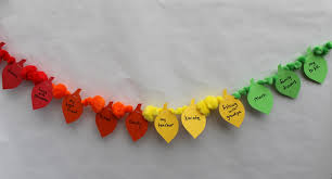 thanksgiving craft to do with thankful garland parents