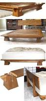 Low Waste Platform Bed Plans by 25 Best Bed Frames Ideas On Pinterest Diy Bed Frame King