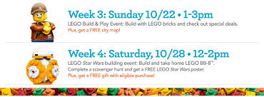 in store events lego disney infinity crayola fun for kid