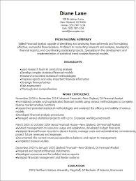 System Support Analyst Resume What Makes A Good Objective On A Resume Good Behavior In