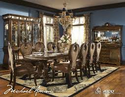 formal dining room sets for 12 extra large heavy round dining tables by antiquepurveyor formal