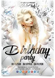 15 free birthday party flyer templates tech trainee