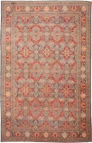 Large Orange Rug Large And Fine Antique Persian Kashan Rug 43338 By Nazmiyal