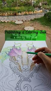 coloring book publishing finishing touches sell products with