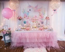 unicorn birthday party baby unicorn themed birthday party pretty my party