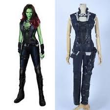 gamora costume guardians of the galaxy gamora costume custom made ebay