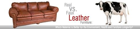 Artificial Leather Sofa Real Vs Faux Leather Sofas What S Sofas And Sectionals