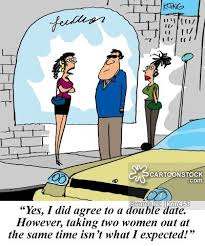 Blind Date Funny Two Timers Cartoons And Comics Funny Pictures From Cartoonstock