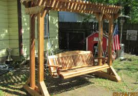 bench brilliant hanging wooden swing bench pleasing hanging