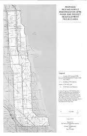 Chicago Transit Authority Map by Uptown Update