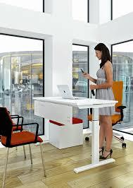 Height Adjustable Desks Uk by Progress Sit Stand Desk City Office Furniture