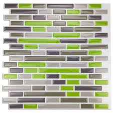 Kitchen Backsplash Tile Stickers Compare Prices On Peel Stick Vinyl Tiles Online Shopping Buy Low