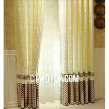 Yellow Bedroom Curtains Asia Designer Patterned Noise Reducing Yellow Bedroom Curtains
