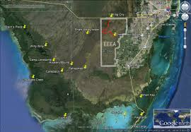 Pythons In Florida Map by Grass Paddling In The East Everglades Expansion Area U2013 History
