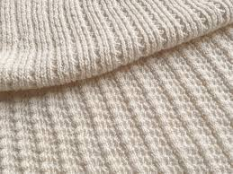 sweater knit fabric white sustainable cotton sweater knit textured rib