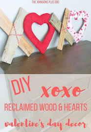 s day decor diy xoxo reclaimed wood hearts s day decor hometalk