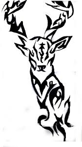 18 deer tribal tattoos designs 70 tattoos to stay in