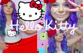Hello Kitty Halloween Costumes by Diy Hello Kitty Costume With New Dress Youtube