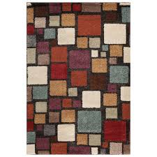 b275 black and multicolored mesa harding rug 5x7 ft at home