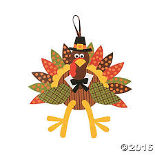 turkey craft kit makes 12 paper plate indian