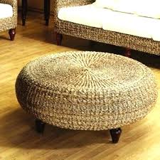 Wicker Storage Ottoman Coffee Table Rattan Ottoman Storage Outdoor Wicker Storage Ottoman Ottoman