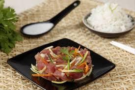 recette de cuisine poisson recette de poisson cru à la tahitienne facile et rapide