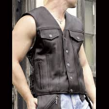 mens motorcycle leathers milwaukee motorcycle clothing co men u0027s gambler black leather vest