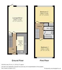 Maisonette Floor Plan Martin U0026 Co Crystal Palace 2 Bedroom Maisonette For Sale In Sylvan