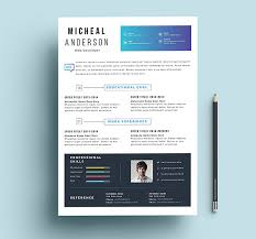 10 fresh free resume design templates 2017 available on dropbox