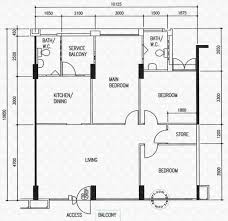 floor plans for hougang street 91 hdb details srx property