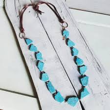 leather necklace turquoise stone images Turquoise the jewelry junkie jpg