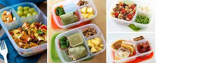 easylunchboxes 3 compartment bento lunch box