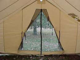 How To Build A Awning Over A Door Canvas Wall Tent Winter Tents Davis Tent U0026 Awning